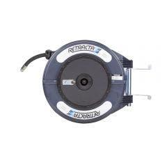 RETRACTA 1/2inch x 15m Oil Hose Reel - Grey OMPC415D-01
