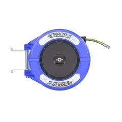 RETRACTA 3/8inch x 10m Oil Hose Reel - Blue OMP310B-01