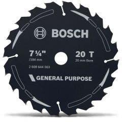 BOSCH 184mm 20T TCT General Purpose Circular Saw Blade
