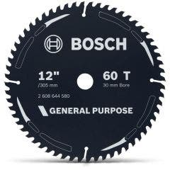BOSCH 305mm 60T TCT Circular Saw Blade for Wood Cutting - GENERAL PURPOSE