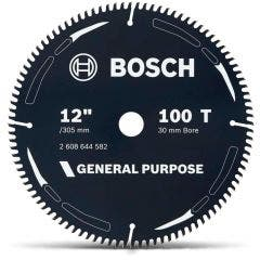 BOSCH 305mm 100T TCT Circular Saw Blade for Wood Cutting - GENERAL PURPOSE