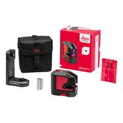 LEICA Red Beam Cross Line Laser Starter Kit LG848435