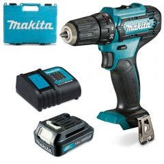 MAKITA 12V 1.5Ah 3/8inch Driver Drill with Case DF333DWY