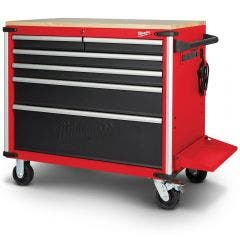 MILWAUKEE 40inch Mobile Work Bench Wood Top 48228537