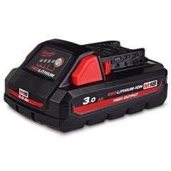 MILWAUKEE 18V 3.0Ah Red Lithium-Ion High Output Battery Pack M18HB3