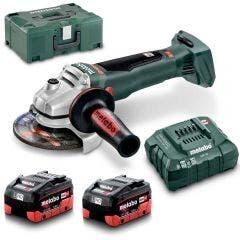 METABO 18V 2 x 5.5Ah 125mm Angle Grinder Kit AU61307755