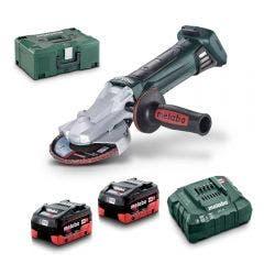 METABO 18V 2 x 5.5Ah 125mm Angle Grinder Kit AU60130655