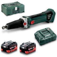 METABO 18V 2 x 5.5Ah 1/4Inch Die Grinder Kit AU60063855