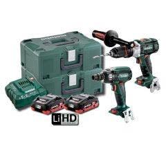 METABO 18V Brushless 2 Piece 2 x 4.0Ah Combo Kit AU68901770