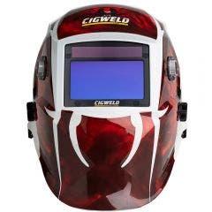 CIGWELD ProLite Auto-Darkening Welding Helmet - Redback Spider 454343