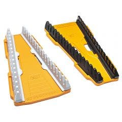 GEARWRENCH 2 pcs 16 Slot Reversible Wrench Rack 83121
