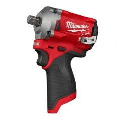 """MILWAUKEE 12V FUEL™ 1/2"""" Stubby Impact Wrench with Pin Detent Skin M12FIWP120"""