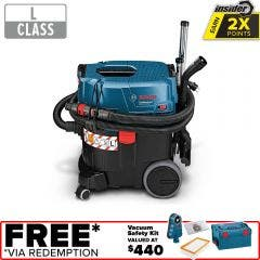 BOSCH 1380W 35L L-Class Wet/Dry Vacuum Extractor GAS 35 L SFC+