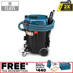 BOSCH 1380W 55L M-Class Wet/Dry Vacuum Extractor GAS 55 M AFC