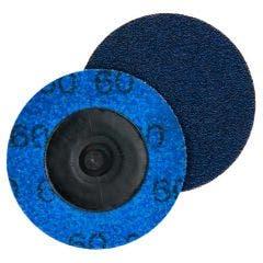 NORTON 50mm 60-Grit Zirconia Quick-Change Sanding Disc - SPEEDLOK - 5 Piece