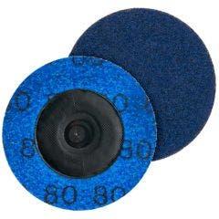 NORTON 50mm 80-Grit Zirconia Quick-Change Sanding Disc - SPEEDLOK - 5 Piece