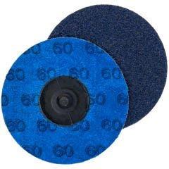 NORTON 75mm 60-Grit Zirconia Quick-Change Sanding Disc - SPEEDLOK - 5 Piece
