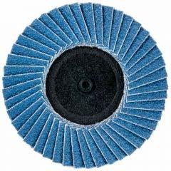 NORTON 75mm 40-Grit Zirconia Quick-Change Flap Disc - SPEEDLOK - 3 Piece