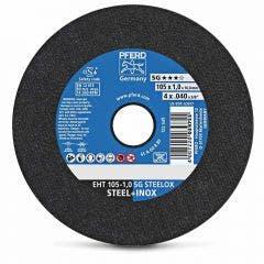 PFERD 105 x 1.0mm Steel & Stainless Cut Off Disc - SG-STEELOX