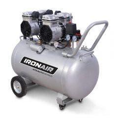 IRONAIR 3.0HP 100L 200L/min Super Quiet Oilfree Air Compressor TTD16100OF
