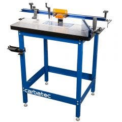 CARBATEC Large Cast Iron Router Table Kit w.Router Lift & Micro Adjust Fence RT-XC810
