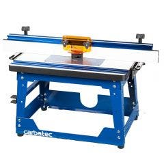 CARBATEC Bench Phenolic Router Table Kit w/ Mount Plate And Precision Fence RT-P685