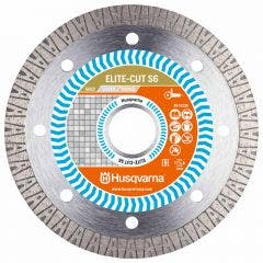 HUSQVARNA 115mm Turbo Diamond Blade for Ceramic Cutting - ELITE-CUT S6