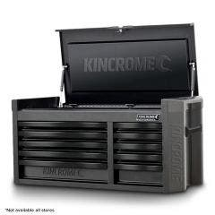 KINCROME 10-Drawer CONTOUR Wide Tool Chest Black Series K7540