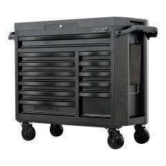 KINCROME 12-Drawer CONTOUR Wide Tool Trolley Black Series K7542