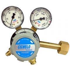 CIGWELD CutSkill 400KPA CO2 Home Brew Regulator 210319
