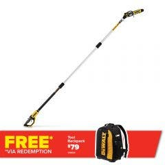 DEWALT 18V XR Brushless 200mm Pole Saw Skin DCMPS567N-XE