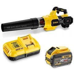 DEWALT 54V XR FLEXVOLT Axial Blower 1 x 9.0Ah Blower Kit DCMBA572X1-XE