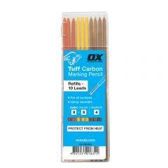 OX Pro Tuff Carbon Marking Pencil Leads 10pcs