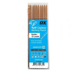 OX Pro Tuff Carbon Marking Pencil Graphite Leads 10pcs