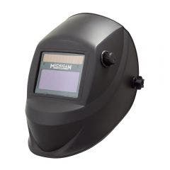 MICHIGAN True View Variable Shade Auto Darkening Black Welding Helmet - Black MICADH380