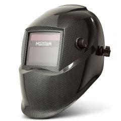 MICHIGAN True View Variable Shade Auto Darkening Carbon Welding Helmet MICADH500