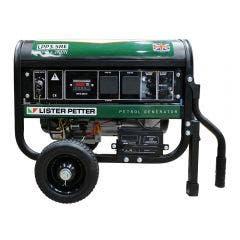LISTER PETTER 3.5KVA Petrol Generator w. E-Start LPP35RE LPP3.5RE