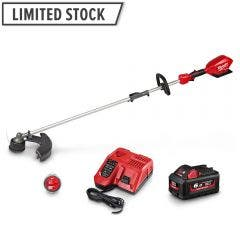 MILWAUKEE 18V FUEL 1 x 6.0Ah Multi-Function Outdoor Power Head w/ Line Trimmer Attachment M18FOPHLTKIT-601