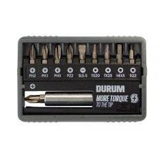 143056-DURUM-25mm-11-Piece-Assorted-Screwdriver-Bit-Set-w--Holder-HERO-DB942_main