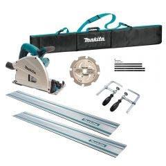 MAKITA 1300W 165mm Plunge Cut Circular Saw Kit SP6000JT2X