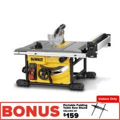DEWALT 1850W 210mm Table Saw DWE7485XE