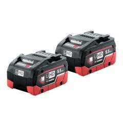 METABO 18V 5.5Ah Twin Pack Battery AU32102550