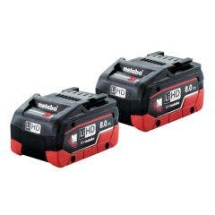 METABO 18V 8.0Ah Twin Pack Battery AU32102800