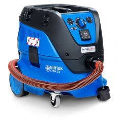 NILFISK 1400W 30L ATTIX 33 H-Class Vacuum Extractor w. DOP Testing Certificate 107419604DOP