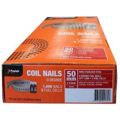 PASLODE 50 x 2.5mm Stainless Steel Coil Nails B40024