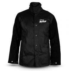 UNIMIG ROGUE Leather Sleeved Welding Jacket UMWJ-B-L