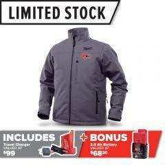 MILWAUKEE M12™ Heated Jacket Iron Grey M12HJIGREYX-0