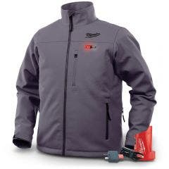 MILWAUKEE 12V Heated Jacket Iron Grey M12HJIGREYX-0