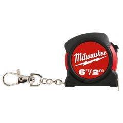 MILWAUKEE 2m Keyring Tape Measure 48225506C