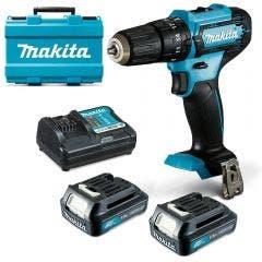 MAKITA 12V 10mm 2 x 1.5Ah Hammer Driver Drill Kit HP333DWYE